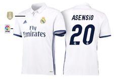 Trikot Adidas Real Madrid 2016-2017 Home WC Asensio 20 - Badge Klubweltmeister