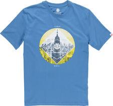 Element Herren T-Shirt RUGGED SS (Vallarta Blue)