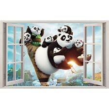 Adesivi finestra Kun Fu Panda ref 11142