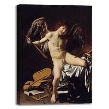 Caravaggio amor vincit omnia quadro stampa tela dipinto telaio arredo casa