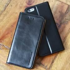 Luxus Cover für Apple / Samsung Smartphone Handy Schutzhülle Case Tasche schwarz