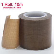 10m PTFE Teflon Tape Self Adhesive Heat Seal Vacuum Pack Packer ROLL Fiberglass
