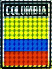 Colombia, República de Colombia Flag Sticker NEW LOT