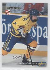 1996-97 Semic Wien #55 Anders Eriksson Team Sweden (National Team) Hockey Card