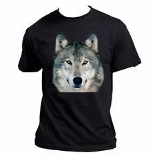 Tee shirt Homme Noir loup