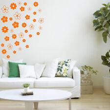 FLOWERS Wall Sticker Girls Bedroom Vinyl Art Decal Transfer Set of 36 AD191
