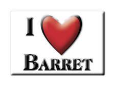 MAGNETS FRANCE - FRANCHE COMTÉ SOUVENIR AIMANT I LOVE BARRET (CHARENTE)