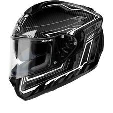 Airoh S.701 Sicurezza Completo Carbon Moto Motocicletta Premium da Strada