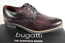 Bugatti Herren Schnürschuh, Halbschuh Sneaker dunkelbraun, Komfortweite 312 NEU!
