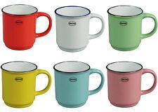 Auswahl - Cabanaz Retro Teetasse Kaffeetasse Kakaotasse Tasse 180ml stapelbar