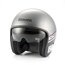 BLAUER piloto 1.1 abierto cara casco de motocicleta-GRIS MATE