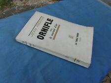 JEAN ANOUILH ORNIFLE OU LE COURANT D AIR / ED. 1956 LA TABLE RONDE