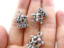 Reino Unido Vendedor Giro Redondo 3 piezas de oro rosa KEYRING piezas Hágalo usted mismo Craft