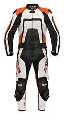 Lederkombi Zweiteiler schwarz KTM orange zweiteilig Gr. 46 48 50 52 54 56 58 60