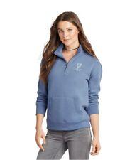 Aeropostale Womens Logo 1/4 Zip Sweatshirt
