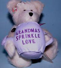 "Boyds Bears plush 8 in. jointed bear ""Grandmas Sprinkle Love"", # 82523, Nana"
