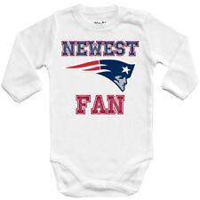 Baby bodysuit Newest fan New England Patriots, football, One Piece jersey