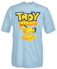 T-Shirt girocollo manica corta Movie M12 Toy Story cartoons Troy Story