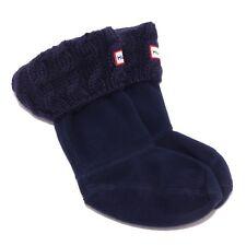 1548S (without box) calze bimba blu HUNTER socks kid unisex