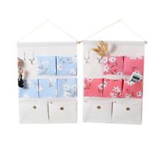 Household Wall Hanging Storage Bag Door Closet Sundries Pouch Organizer Q