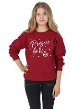 Prosecc-ho ho ho Sweater Top Jumper Sweatshirt Christmas Xmas Funny Prosecco