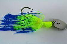 "Vibrating Venom Chatter Bait - 3/8 ounce - ""BLUE ANGEL"" - Bass/Pike/Fish"