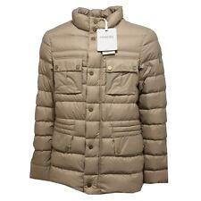 3422M giubbotto piumino uomo tortora GEOSPIRIT parrain quilted jackets coats men