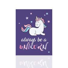 Quadro moderno per bambini Unicorno - ideale per la cameretta nascita regalo