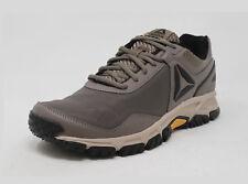 REEBOK Ridgerider Trail 3.0 Nylon Khaki Tan Brown Lace Up Sneakers Men Shoes