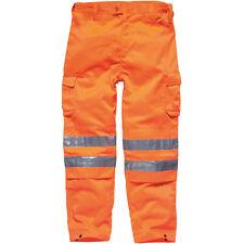 DICKIES SAFETY GO/RT HI-VIS TROUSERS SIZE S - XXXXL HI-VIZ ORANGE SA45010