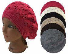 Lady Women Beanie Crochet Beret Knit Baggy Hat Cap