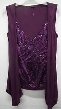 BN Purple Sequin Sleevless Top From Walmart