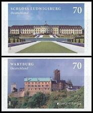 BRD MiNr. 3311-3312 Satz ** Serie Burgen & Schlösser, postfrisch, selbstklebend