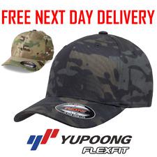 OFFICIAL FLEXFIT MULTICAM BASEBALL CAP STRETCHABLE FULL BACK CAMOUFLAGE HAT