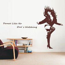 DANCING GIRL decalcomania della parete, design esclusivo, Wall art Adesivi, di adesivi murali -- pd5