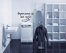Departamento de perdido calcetines-Lavadero pegatinas de pared. muchos Colores. ¡ nuevo!