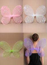 Flügel Engel Schmetterling Fee Kostüm Schmetterlingsflügel 4 Farben NEU