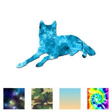 Wolf Coyote Wild Dog - Vinyl Decal Sticker - Multiple Patterns & Sizes - ebn2820