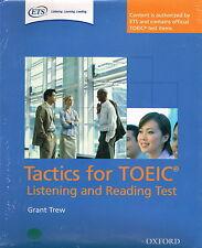 Oxford tácticas para escuchar y leer Examinador TOEIC Pack de prueba | Trew @NEW y Sellado @