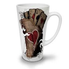 Poker Casino Skeleton Ace NEW White Tea Coffee Latte Mug 12 17 oz   Wellcoda