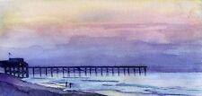 Large Giclee SC Painting Myrtle Beach Landscape Ocean Art hand painted Ocean Sea