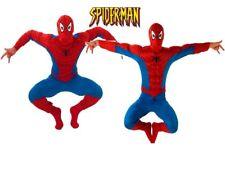 Adult Mens Licensed SPIDERMAN Fancy Dress Costume Jumpsuit Book Week Stag Party