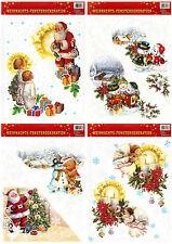 Imagen De Ventana Decoración Mural Adviento Navidad fenstersticker PEGATINA A3