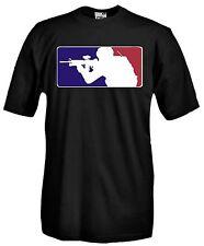 T-shirt Maglietta J671 Sniper Soft air Fucile Militare Fun Maglia Cotone 100%