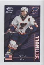 1997-98 Pinnacle Kraft Dinner #BRHU Brett Hull St. Louis Blues Hockey Card