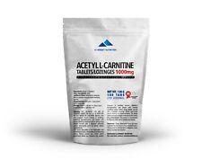 ACETYL L-CARNITINE (ALCAR, ALC) TABLETTEN 1000mg, REDUZIERT STRESS UND FETT