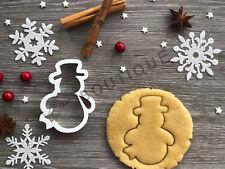Snowman Xmas Cookie Cutter 04 | Christmas | Fondant Cake Decorating | UK