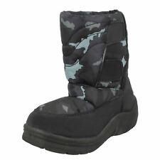 Boys Spot On Padded Winter Snow Boots