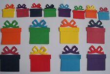 100 Cajas Y Arcos Regalos Sizzix Die Cuts Toppers Bebé Navidad Cualquier Color