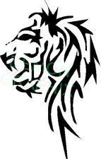 Tribal Tattoo Lion Head vinyl decal/sticker animal roar cat